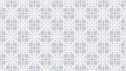 White Seamless Square Pattern Illustrator