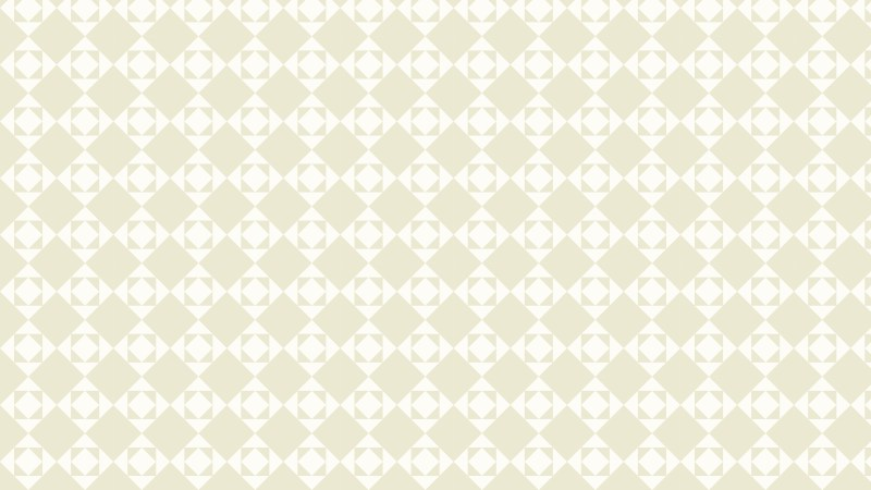 White Geometric Square Pattern Background Vector