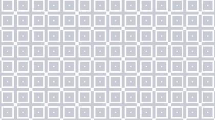 White Geometric Square Background Pattern