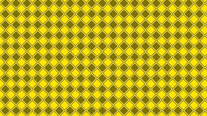 Yellow Seamless Square Pattern Vector