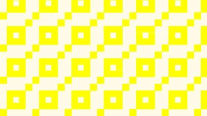 Light Yellow Seamless Square Pattern Background