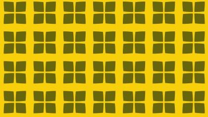 Yellow Square Background Pattern Illustrator