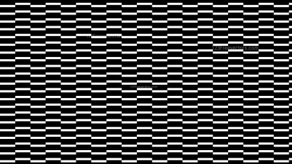 Black and White Stripes Pattern