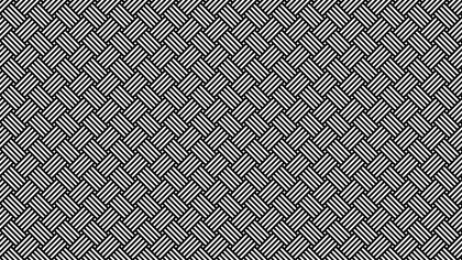Black and White Stripes Pattern Vector Graphic