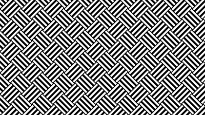 Black and White Seamless Stripes Background Pattern Vector Art