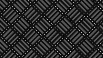 Black Seamless Stripes Background Pattern