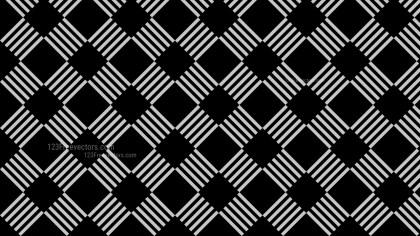 Black Seamless Stripes Pattern Background Design