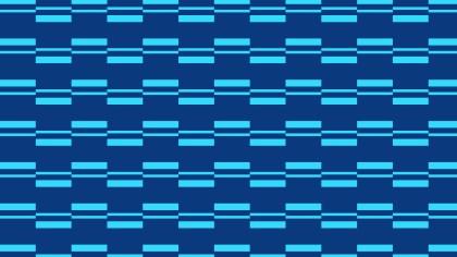 Blue Seamless Geometric Stripes Pattern