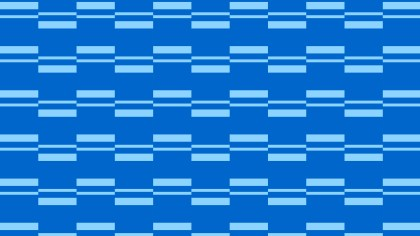 Blue Striped Geometric Pattern Graphic