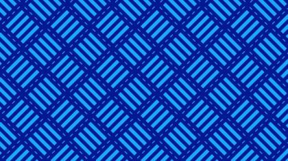 Cobalt Blue Stripes Pattern Background Illustration