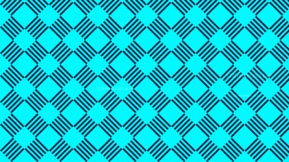 Turquoise Stripes Background Pattern