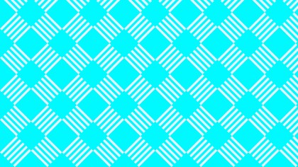 Cyan Seamless Stripes Pattern