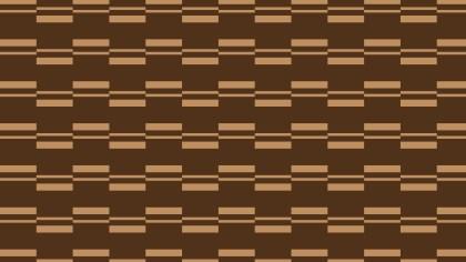 Dark Brown Seamless Stripes Pattern Vector Illustration