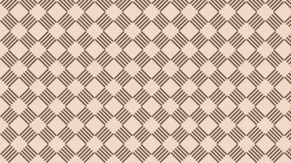 Brown Striped Geometric Pattern