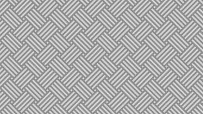 Grey Seamless Striped Geometric Pattern Vector Graphic