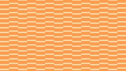 Orange Seamless Stripes Pattern Vector Illustration