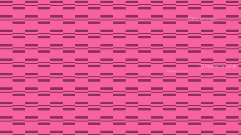 Pink Seamless Stripes Pattern Illustration