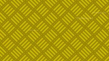Yellow Seamless Striped Geometric Pattern