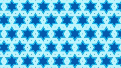 Blue Star Pattern Background Vector Art