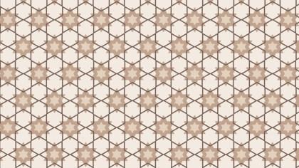 Light Brown Star Pattern Background Illustration