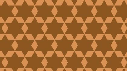 Brown Stars Pattern Background