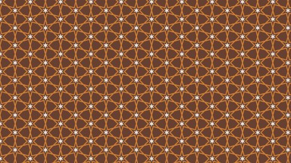 Brown Seamless Star Pattern Background Graphic