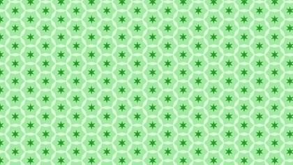Light Green Seamless Star Pattern Background Vector
