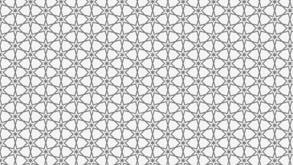 Light Grey Star Background Pattern
