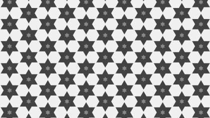 Grey Seamless Star Background Pattern Image