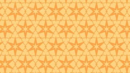 Light Orange Seamless Stars Pattern Background Graphic