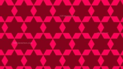 Pink Star Background Pattern Graphic