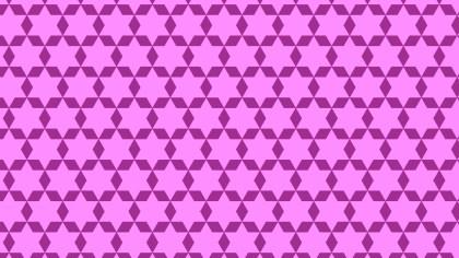 Purple Seamless Star Pattern Background
