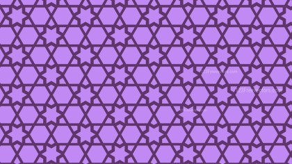 Purple Stars Background Pattern Design