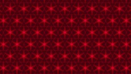Dark Red Seamless Star Background Pattern