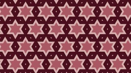 Dark Red Star Pattern Background Illustration