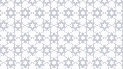 White Stars Pattern Vector