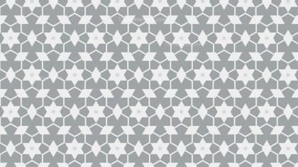 White Stars Pattern Background