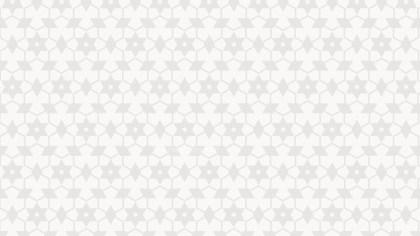 White Seamless Star Pattern Vector Art