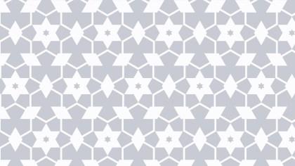 White Stars Pattern Design
