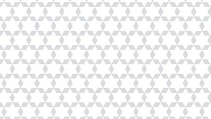 White Star Background Pattern Design