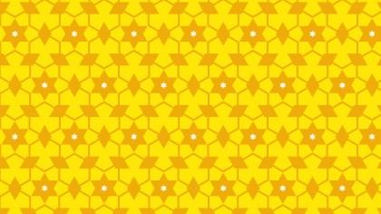 Yellow Stars Pattern Background Vector Art