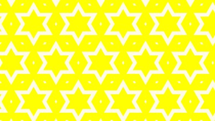 Yellow Star Pattern