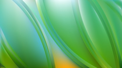 Abstract Blue and Green Background Illustrator