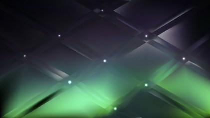 Green and Black Background Illustration