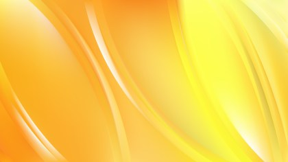 Abstract Yellow Background Vector Graphic