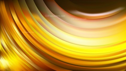 Black and Yellow Wavy Background
