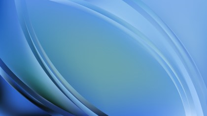 Abstract Blue Wave Background Vector Art