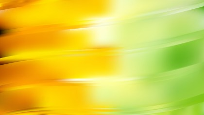 Green and Yellow Wavy Background Vector Graphic