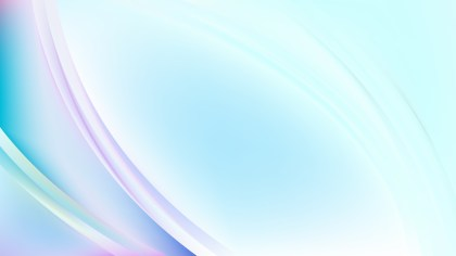 Glowing Abstract Light Blue Wave Background Vector