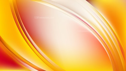 Abstract Red and Yellow Curve Background Image
